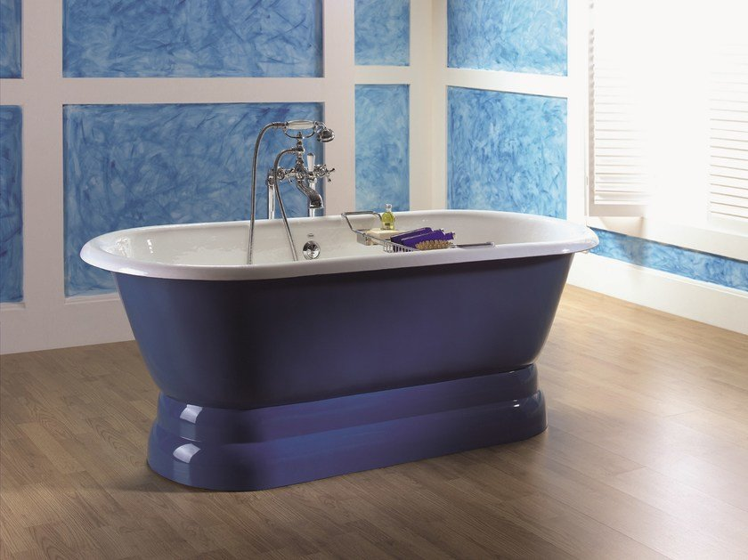 Vasca da bagno centro stanza ovale vintage vasca da bagno centro stanza bleu provence - Vasca da bagno ovale ...