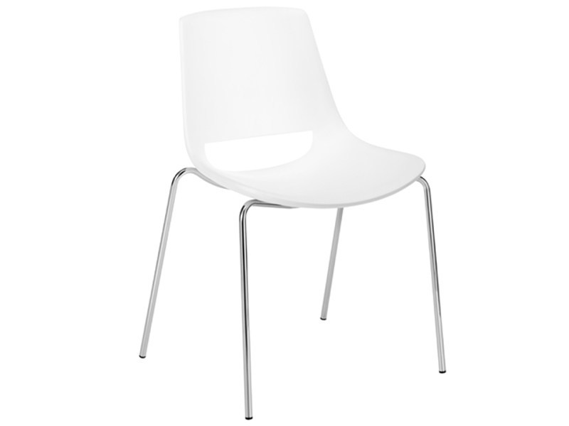 Stackable chair PALM | Chair by arper
