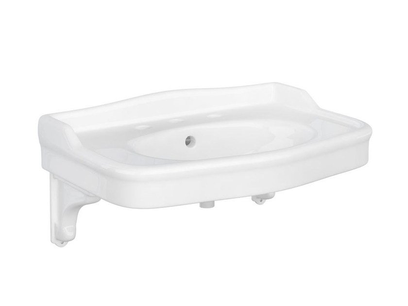 Wall-mounted ceramic washbasin PROVENCE '800 | Wall-mounted washbasin by BLEU PROVENCE