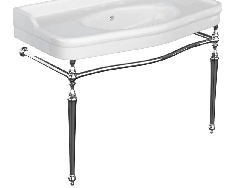 Metal console sink Console sink by BLEU PROVENCE