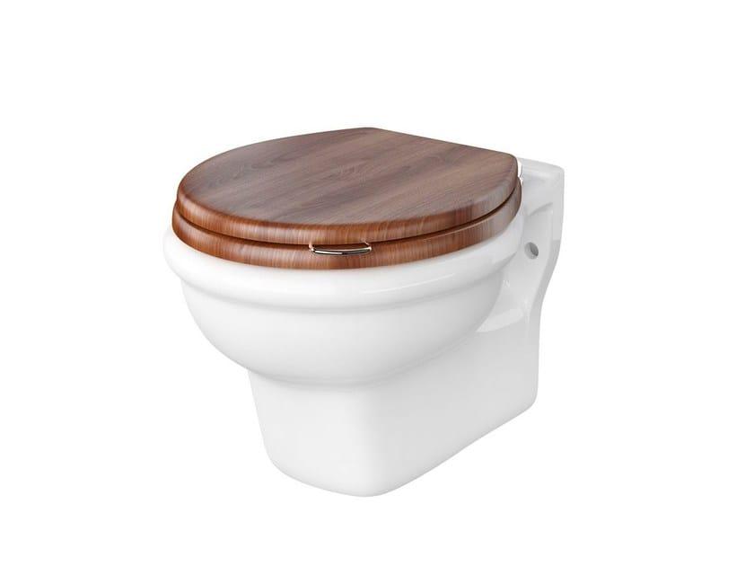 Wall-hung ceramic toilet PROVENCE '800 | Wall-hung toilet by BLEU PROVENCE