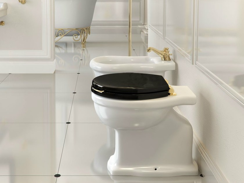 Floor mounted ceramic toilet PROVENCE '800 | Floor mounted toilet by BLEU PROVENCE