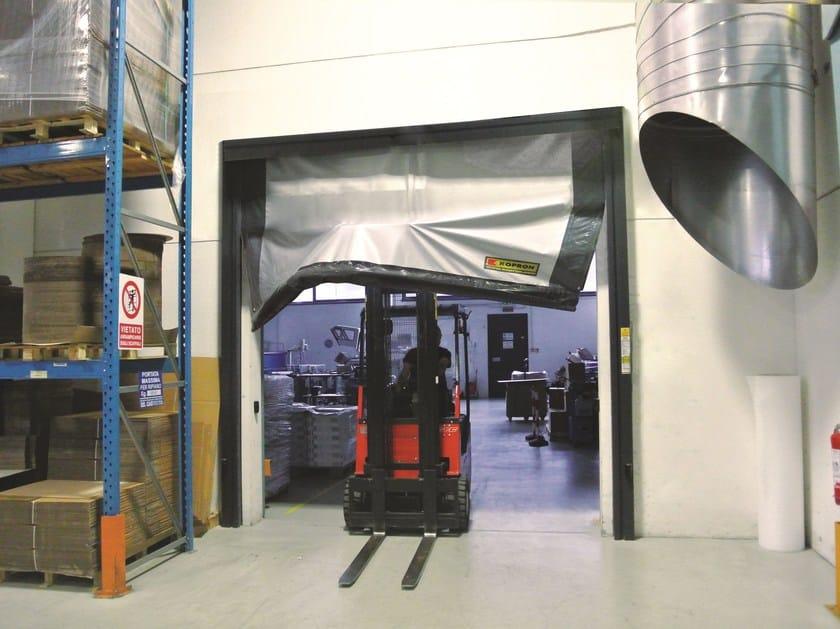 Rapid vertical roll-up door REPLAY by Kopron