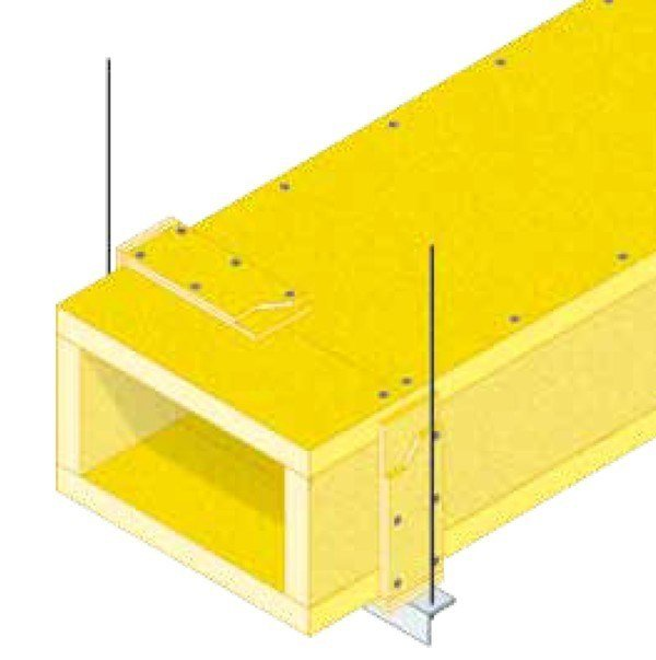 Non-mechanical heat and smoke evacuator Natural ventilation hse by GLOBAL BUILDING