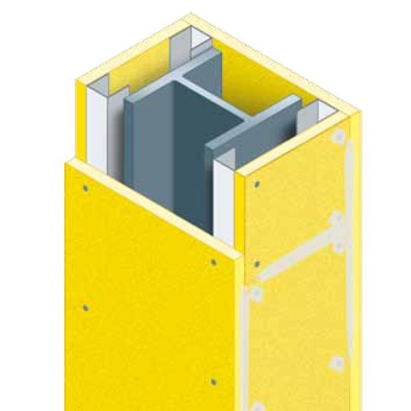 Fire protection of structural elements Fireproof panel by GLOBAL BUILDING