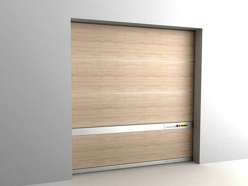 Sectional garage door LIVING by Kopron