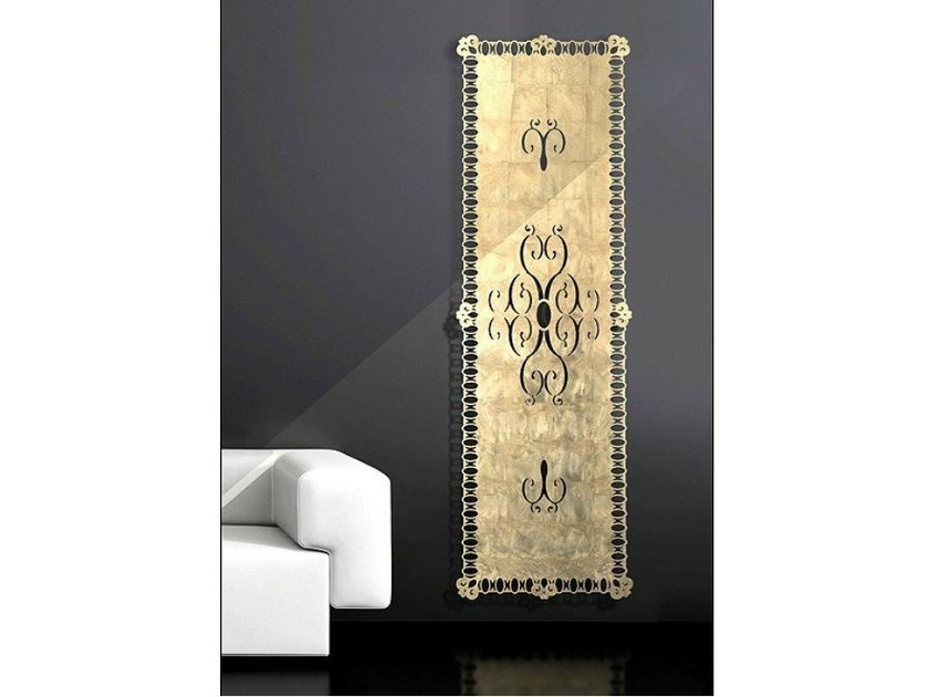 Wall-mounted aluminium decorative radiator FLORENCE by BLEU PROVENCE
