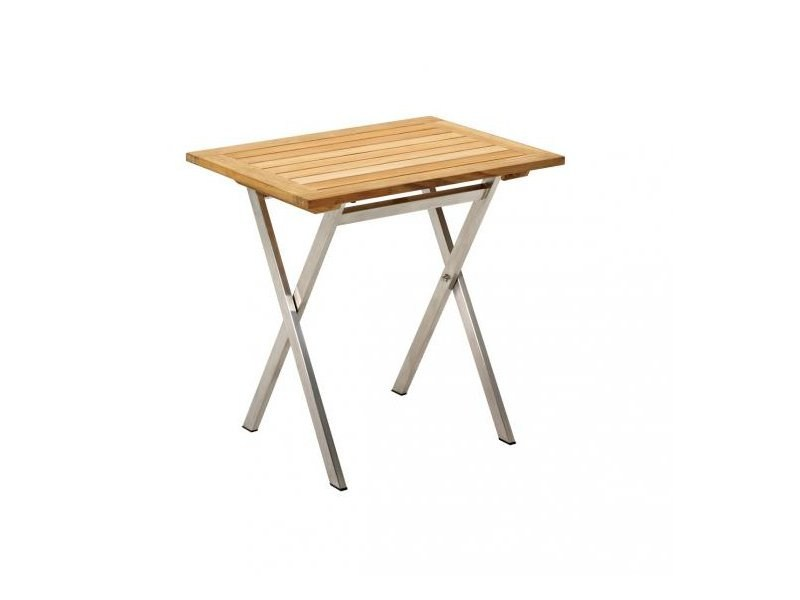 Folding teak garden table KORE | Folding garden table by Gloster