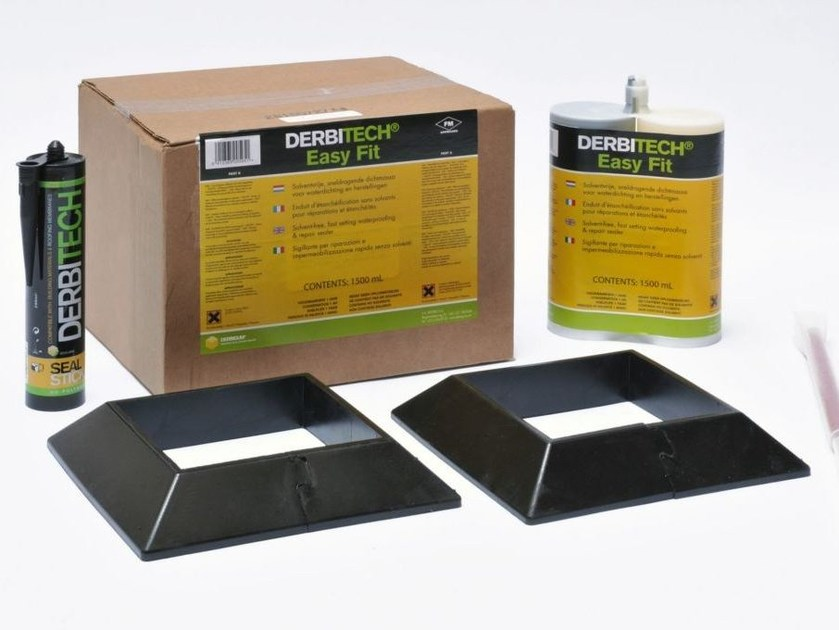 Additive and resin for waterproofing DERBITECH EASY FIT by Derbigum