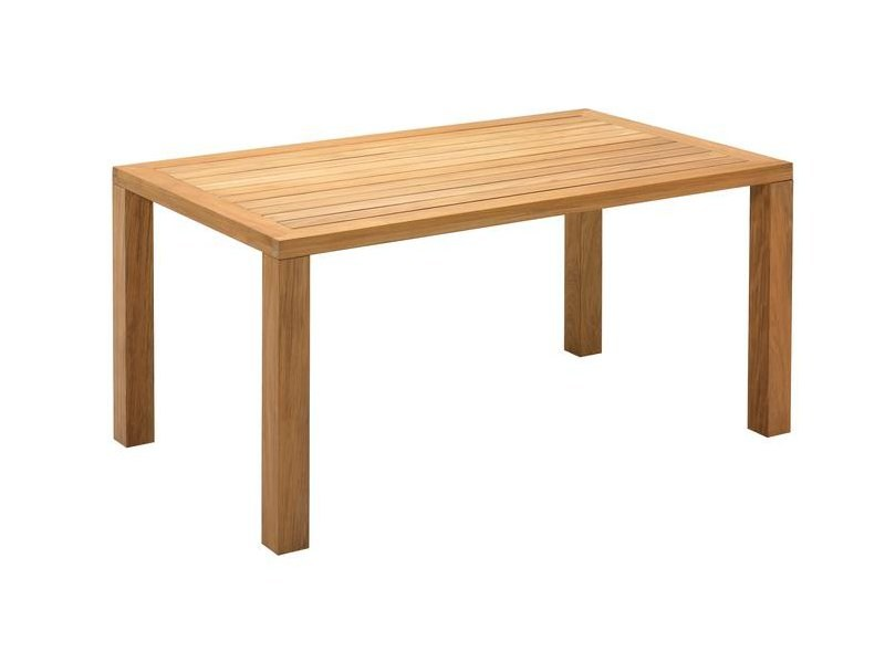 Rectangular teak garden table SQUARE | Rectangular garden table by Gloster