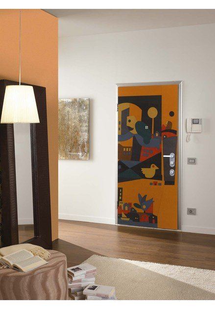 Armoured door panel FABLES by DiBi Porte Blindate