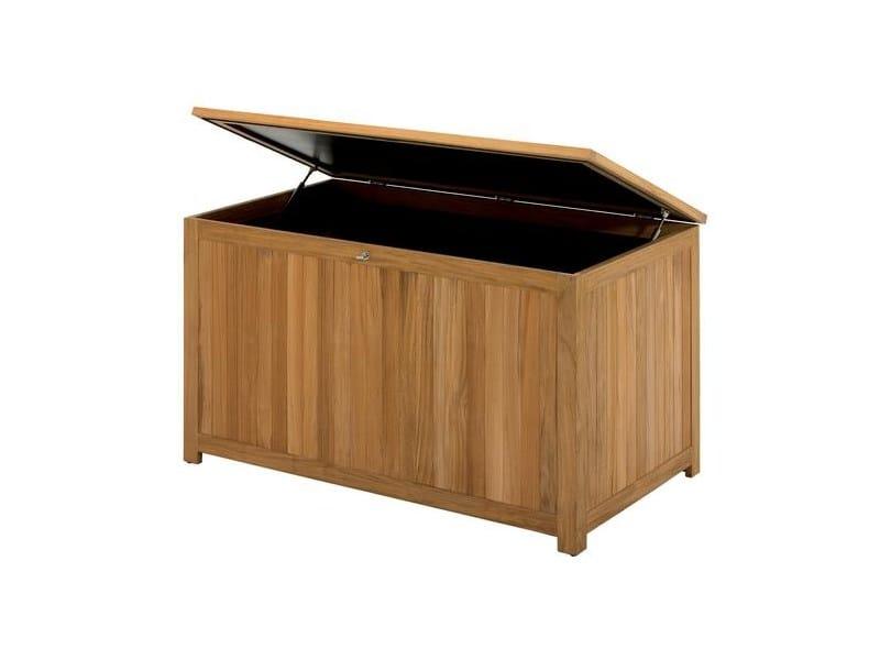 Teak storage chest Storage chest by Gloster