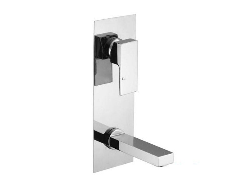 Wall-mounted washbasin mixer KUBIK by Gattoni Rubinetteria