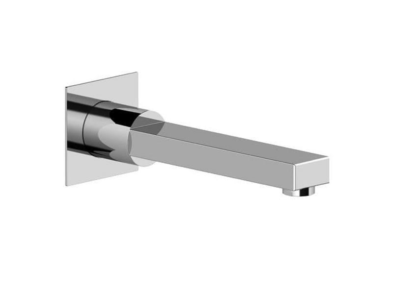 Chrome-plated sink spout KUBIK by Gattoni Rubinetteria