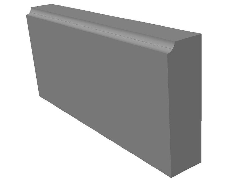 Cement external wainscoting ISOLIGHT® | External wainscoting by BACCARO I CEMENTISTI