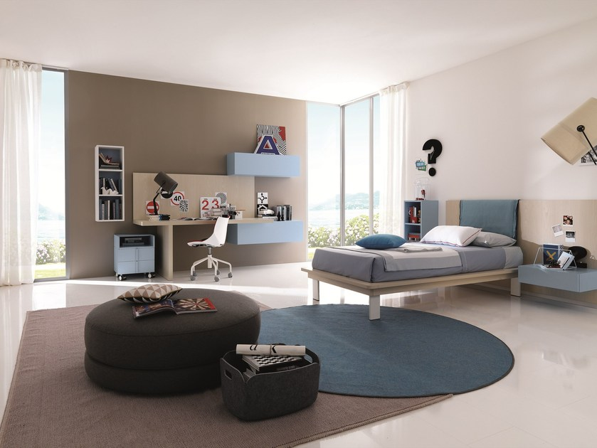 Fitted teenage bedroom Z236 | Bedroom set by Zalf