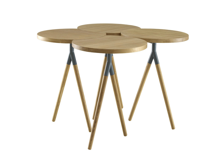 Solid wood coffee table ITISY by Ligne Roset