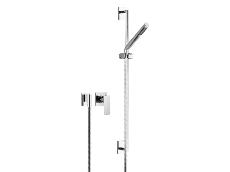 Shower mixer with individual rosettes SUPERNOVA by Dornbracht