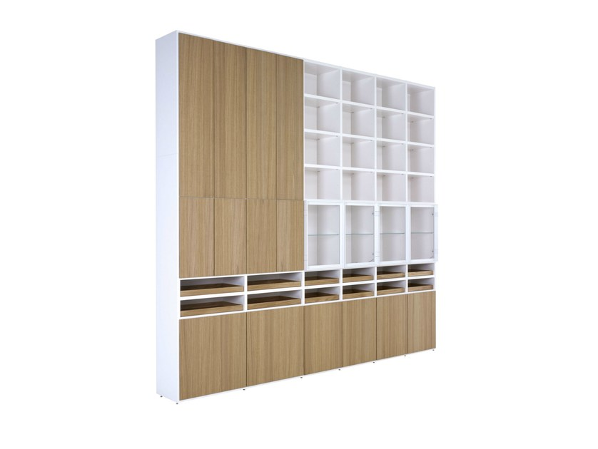 Modular bookcase with drawers ET CETERA by Ligne Roset