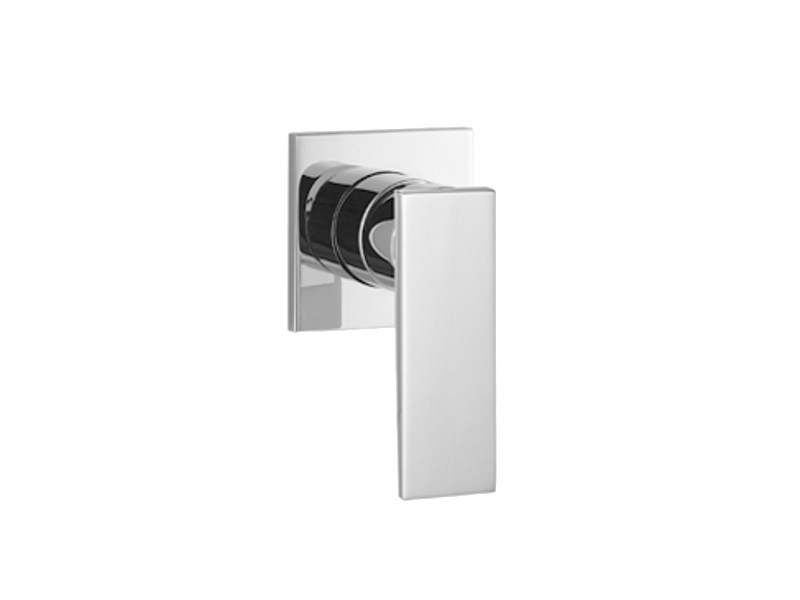 Single handle shower mixer with plate SUPERNOVA by Dornbracht