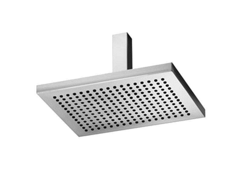 MARK | Ceiling mounted overhead shower Mark Collection By JUSTIME