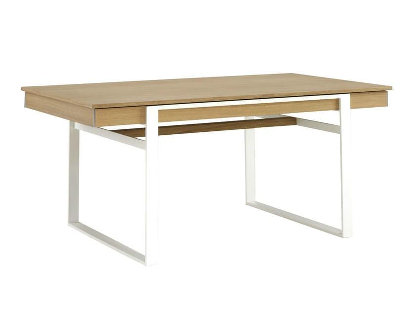 Rectangular dining table NEMESIS by Ligne Roset