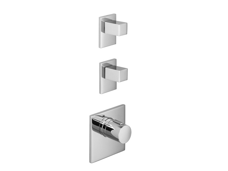 3 hole thermostatic shower mixer XTOOL by Dornbracht