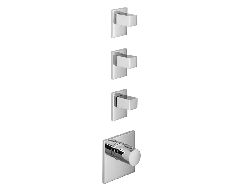 4 hole thermostatic shower mixer XTOOL by Dornbracht