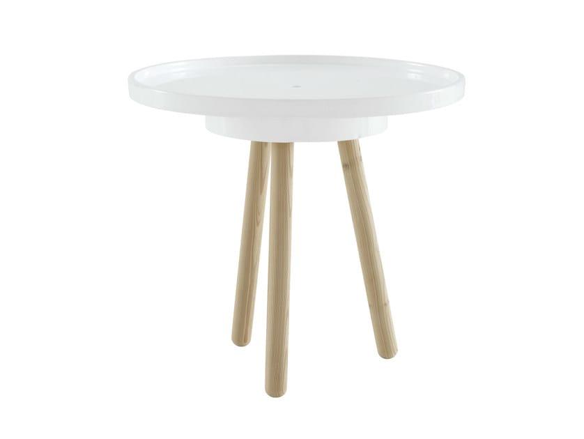 Round garden side table JEAN BAPTISTE by Ligne Roset