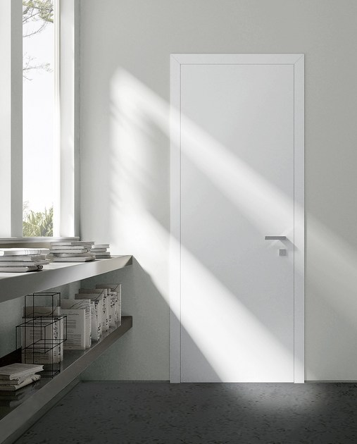 Hinged lacquered door THESI | Lacquered door by MOVI ITALIA