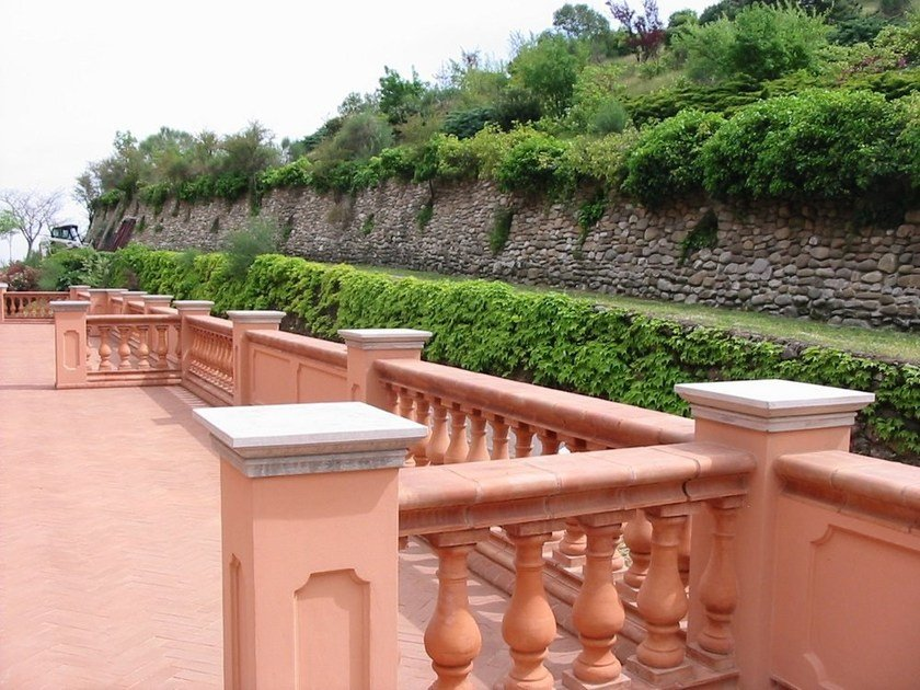 Cement Railing By Baccaro I Cementisti