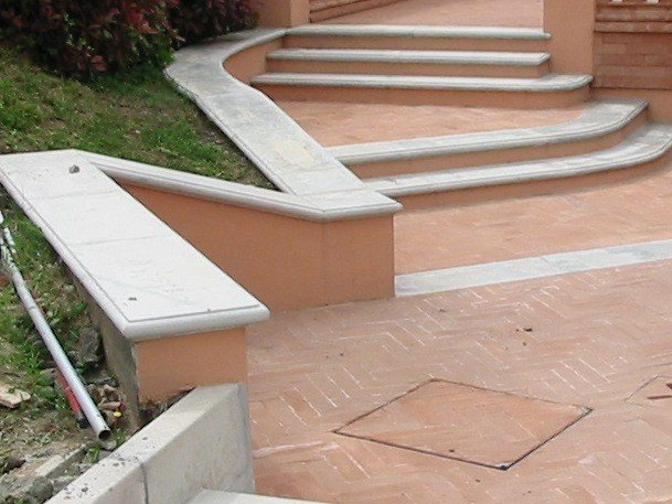 Cement wall coping CEMENT   Wall coping by BACCARO I CEMENTISTI