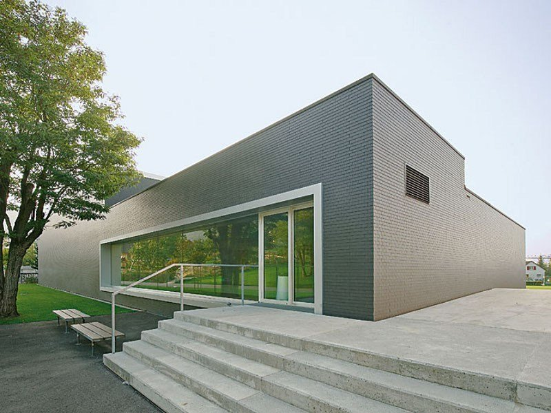 Dry-laid cement and fibre cement sheet FACADE SLATES Eternit by SWISSPEARL Italia