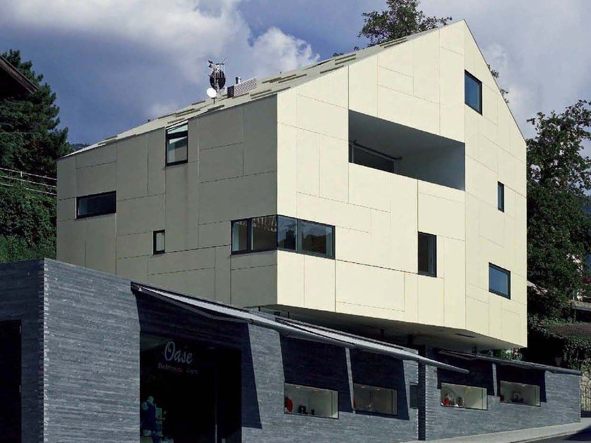 Dry-laid cement and fibre cement sheet SIGMA 8 by SWISSPEARL Italia