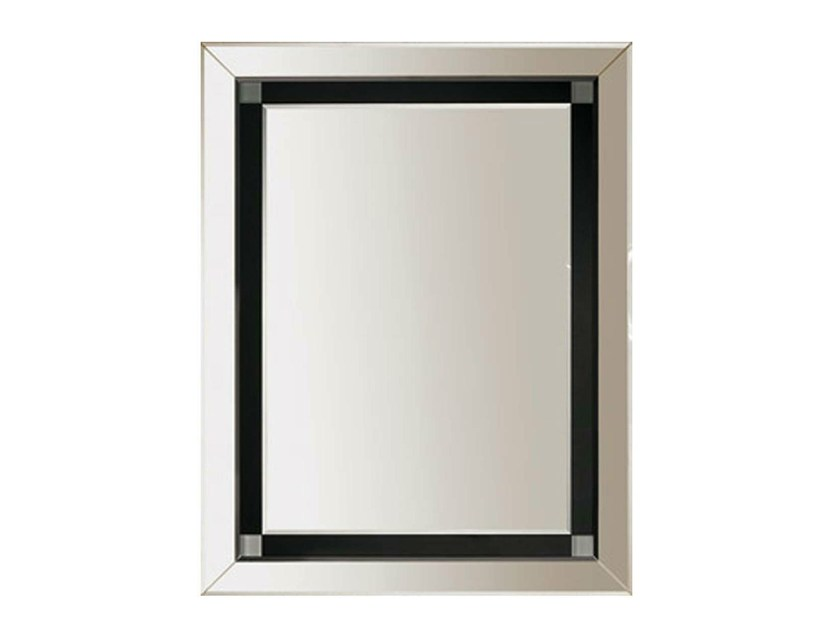 Rectangular wall-mounted mirror CRYSTAL | Mirror by GENTRY HOME