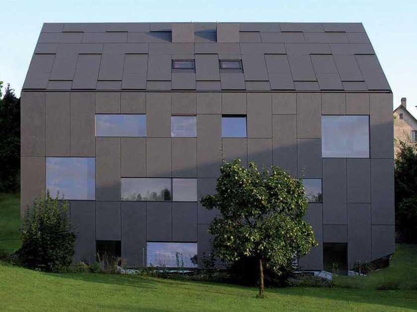 Roofing Panel And Sheet In Fibre Cement Integral Crea By Swisspearl Italia