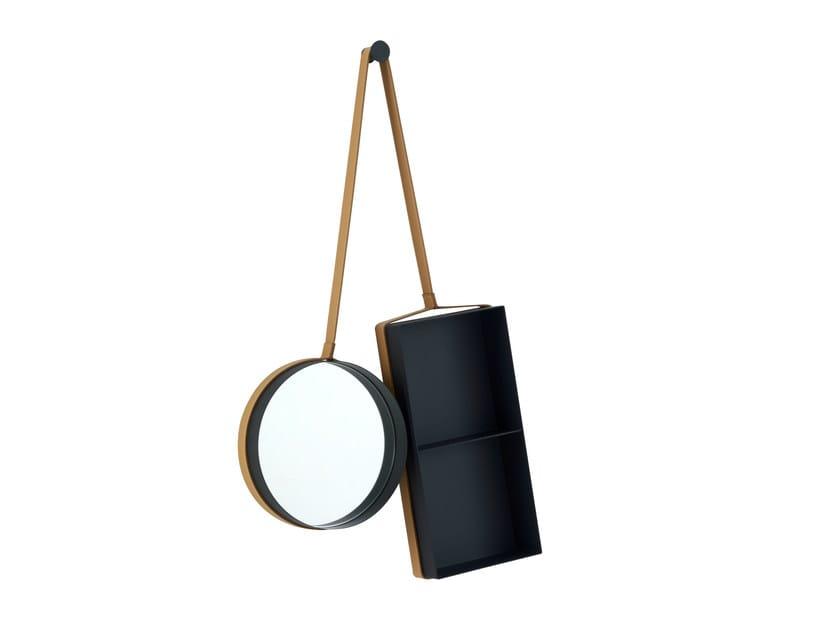 Mirror / hallway unit VANITY SHELF by Ligne Roset