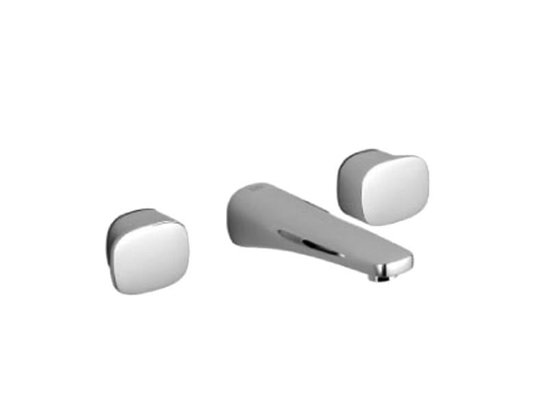 3 hole wall-mounted washbasin tap GENTLE by Dornbracht