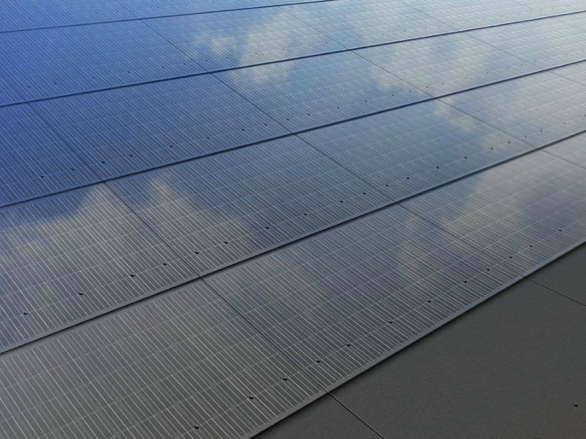 Photovoltaic module INTEGRAL by SWISSPEARL Italia