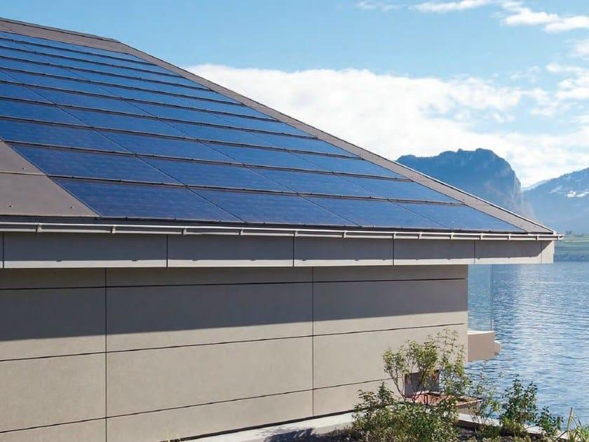 Photovoltaic module MEGASLATE by SWISSPEARL Italia