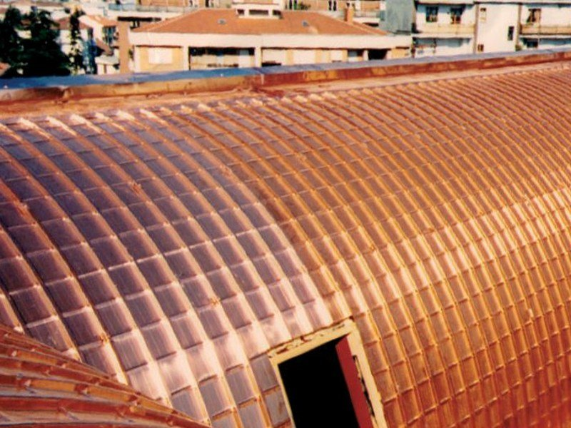 Metal sheet and panel for roof GENUS 30 by Unimetal di Idrocentro