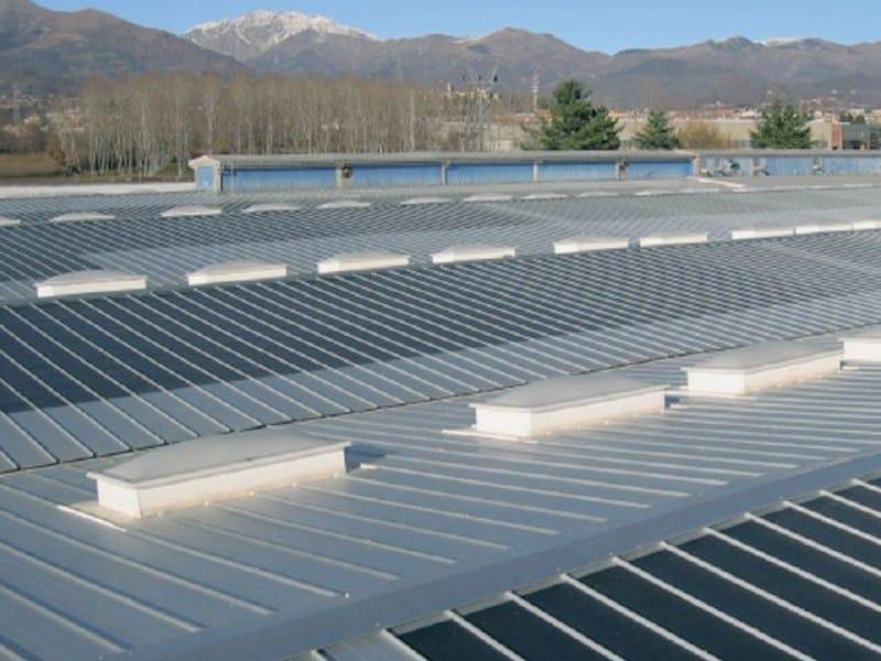 GENUS 900 LUX Alluminio Pannello e lastra metallica per copertura