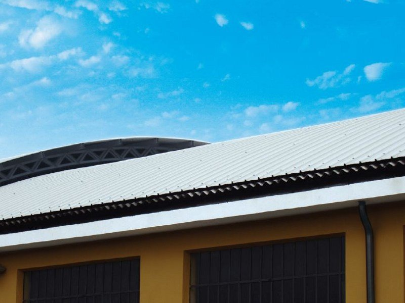 Metal sheet and panel for roof GENUS 1000 by Unimetal di Idrocentro