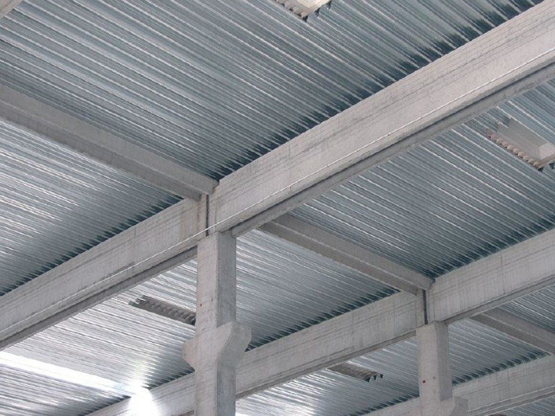 Metal sheet and panel for roof GENUS 160 POSITIVO by Unimetal