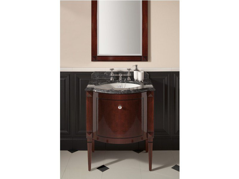 Classic style mahogany vanity unit CHESTER | Single vanity unit by GENTRY HOME