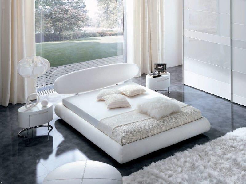 Upholstered bed NUBA by MisuraEmme