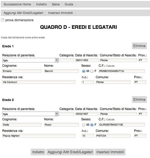 Online/Cloud Software iT-erede by INTERSTUDIO