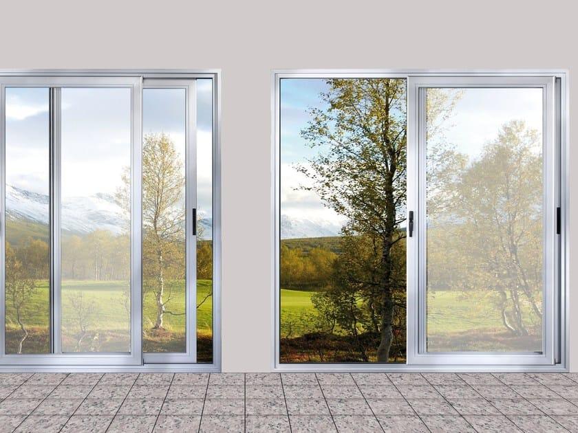 Aluminium sliding window EKU® 100 SLIDE TT by PROFILATI