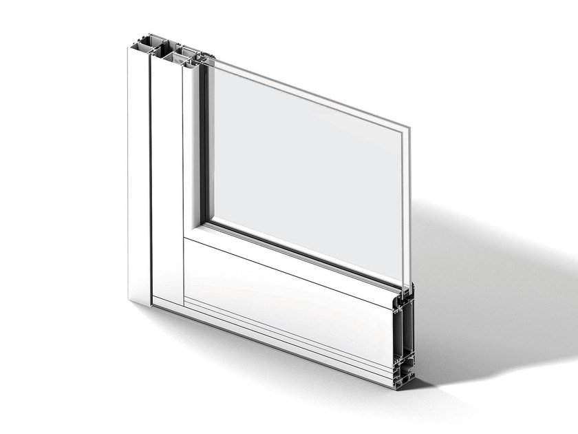 Aluminium window EKU® 66 TT by PROFILATI