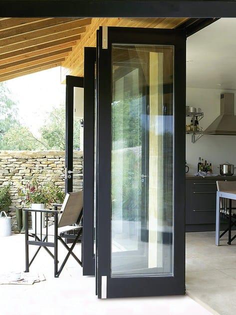 Vetrata Pieghevole In Alluminio Eku Veranda Profilati